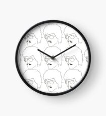 """Weird Al"" Yankovic V.1 Clock"