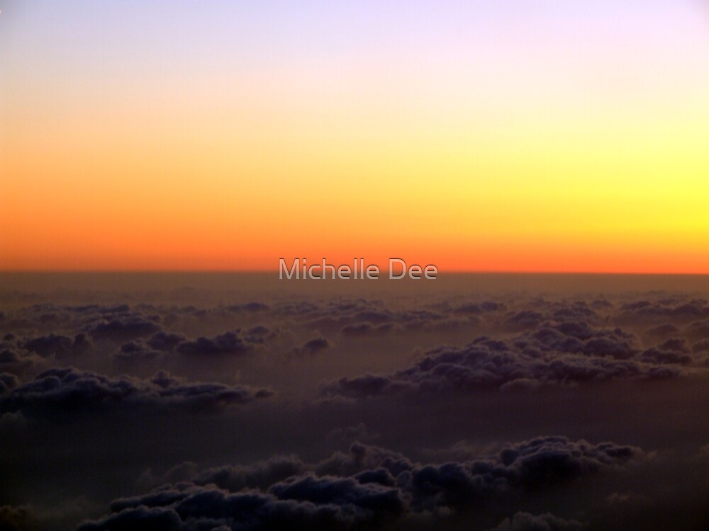 Above The Clouds by michelleduerden