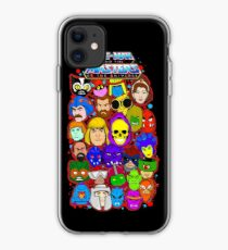 Heman character collage iPhone Case
