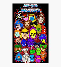 Heman character collage Photographic Print