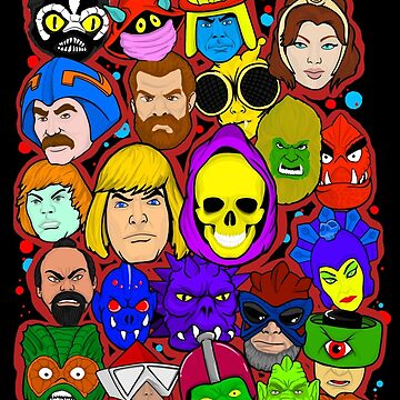 Heman character collage by gjnilespop