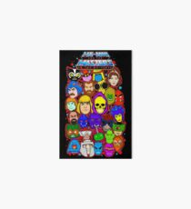 Heman character collage Art Board