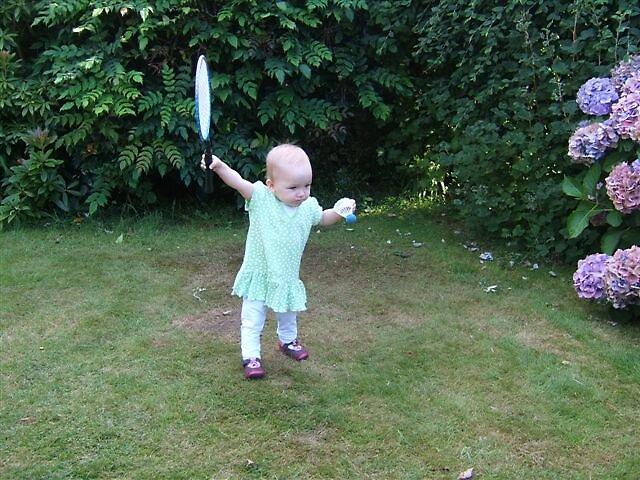 Anyone for badminton ? by Jencusty