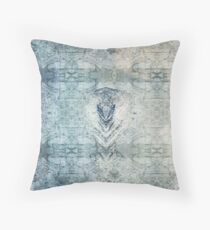 Pastel Abstract Pattern Throw Pillow