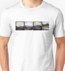 A wee row of Scottish mountains Unisex T-Shirt