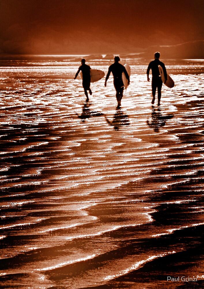 Surfin' fun by Paul Grinzi