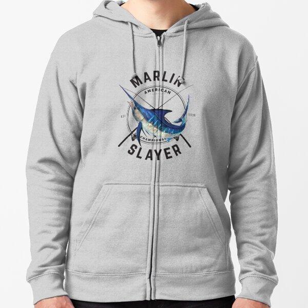 Marlin Slayer Zipped Hoodie