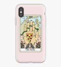 Vinilo o funda para iPhone Lectura de pizza