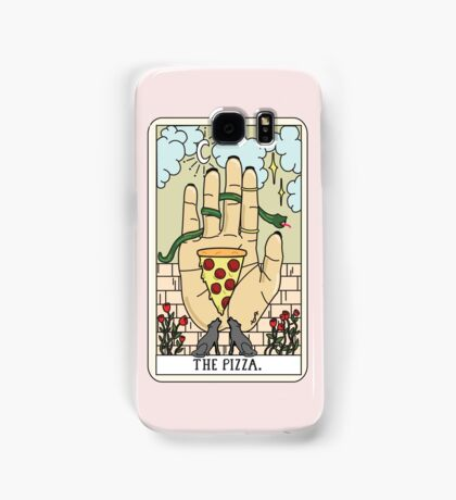Pizza Reading Samsung Galaxy Case/Skin