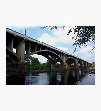 Gervais stree bridge Photographic Print