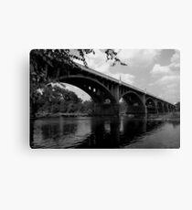 Gervais stree bridge #2 Canvas Print