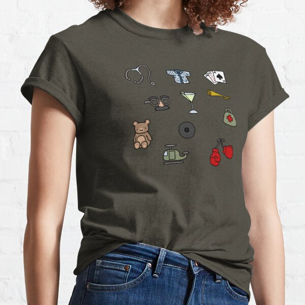 Martinis and Medicine Classic T-Shirt