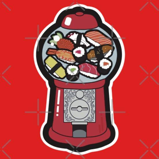 TShirtGifter presents: Gumball Sushi