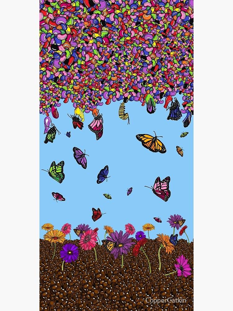 Jellybean Butterflies by CopperCatkin