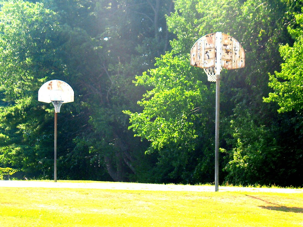 Empty Court by Tommy Seibold