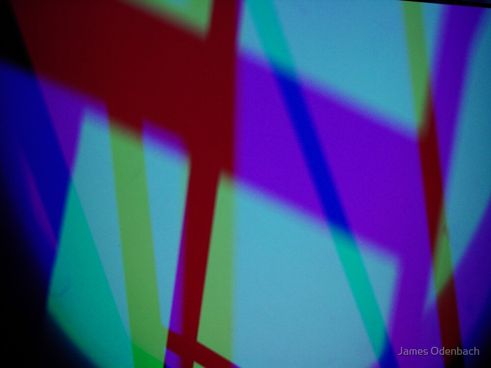 Light Art - Abstract 2 by James Odenbach