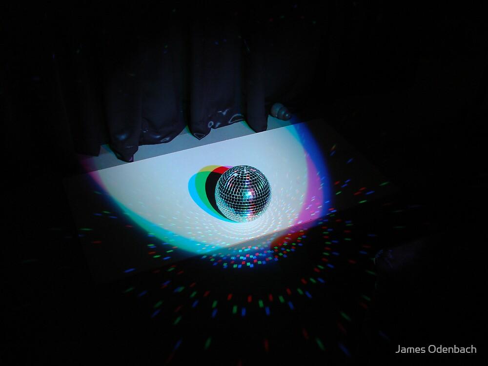 Light Art - Mirror Ball by James Odenbach