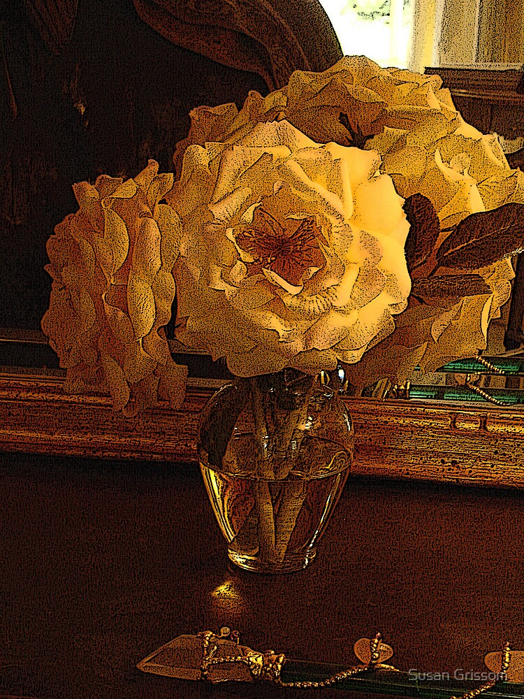 White Flower still life by Susan Grissom