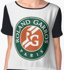 Roland Garros Chiffon Top