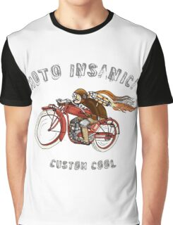 INDIAN MOTORCYCLE MOTO INSANICA Graphic T-Shirt