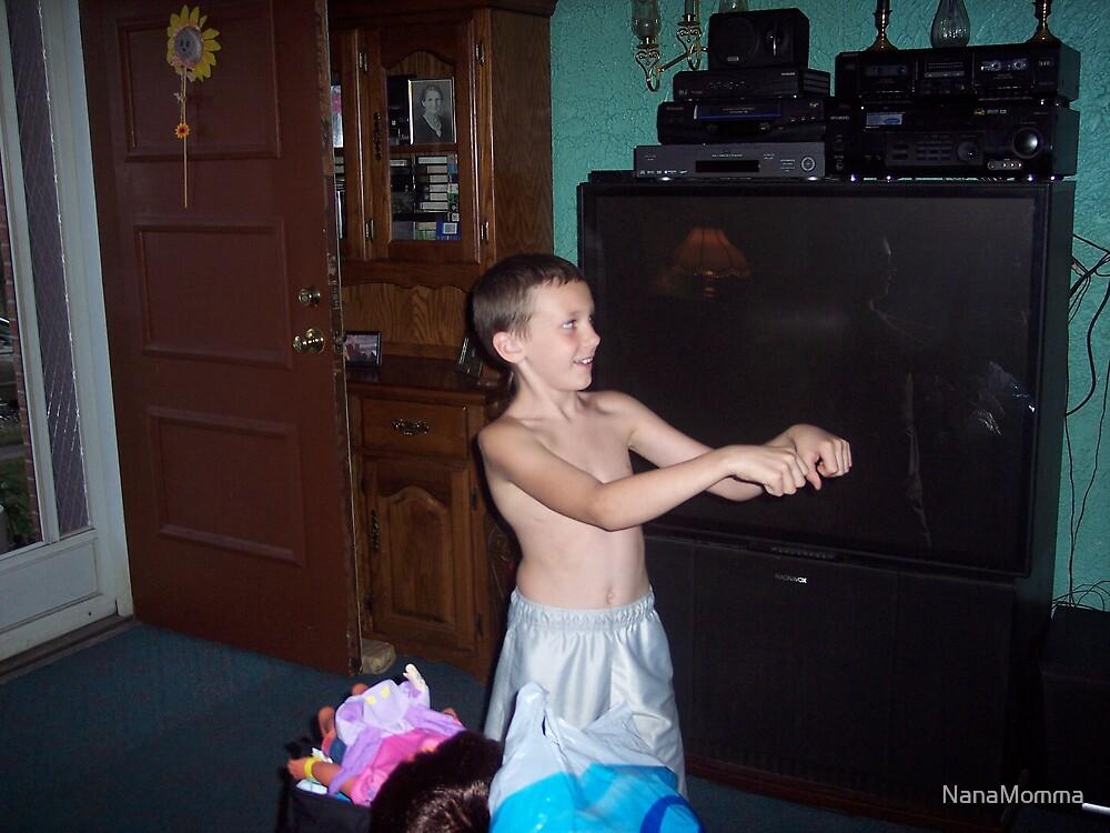 Nick Dancing by NanaMomma