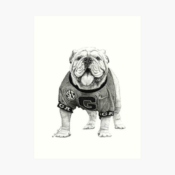 Uga X - Georgia Bulldog Art Print