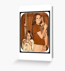 Little outlaws Greeting Card