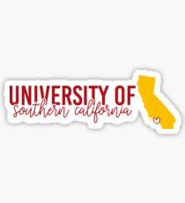 DESIGN 8 - University of Southern California Sticker