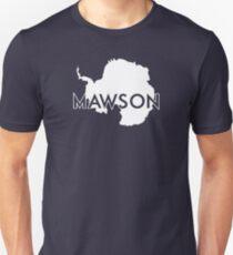 Sir Douglas Mawson White Unisex T-Shirt