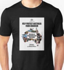 Errorism (White Background for Black Tshirt) Unisex T-Shirt
