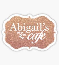 Abigail's Cafe Sticker