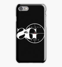 sniper gang II iPhone Case/Skin
