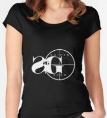 sniper gang II Women's Fitted Scoop T-Shirt