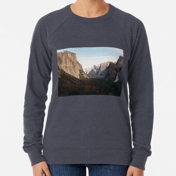Yosemite Valley  Lightweight Sweatshirt
