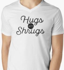Shrug Free Men's V-Neck T-Shirt