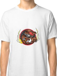 boar head for sport team mascot Classic T-Shirt