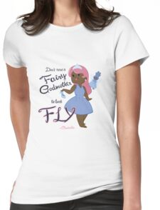 Fly Cinderella Womens Fitted T-Shirt