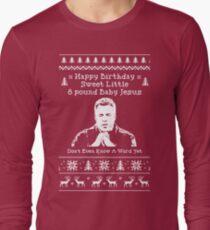 Alles Gute zum Geburtstag Jesus! Langarmshirt