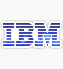 IBM Space Sticker