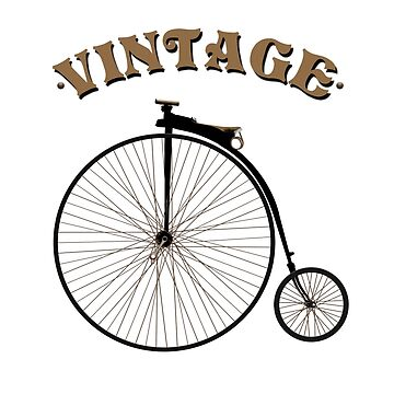Vintage Bike by RealistRaw