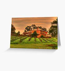 winery Greeting Card
