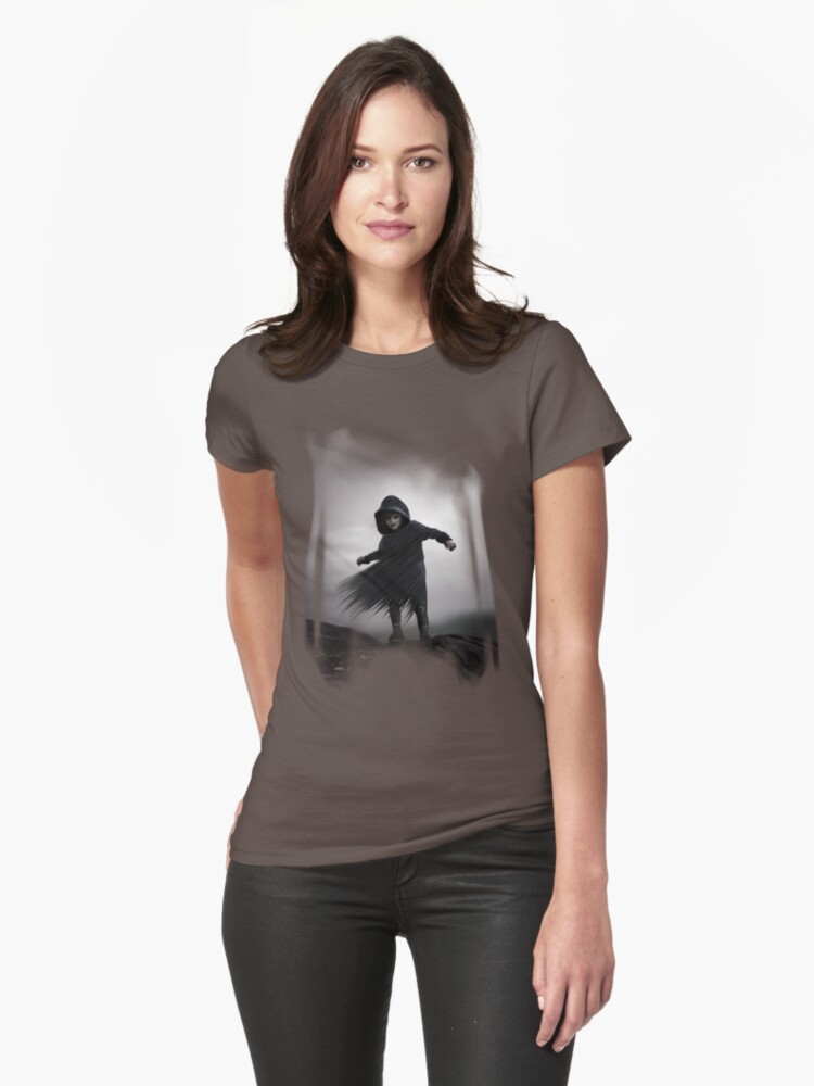 Wraithling tee by Ivy Izzard