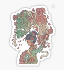 Geisha  Sticker