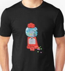 Bubble gum machine.  Unisex T-Shirt