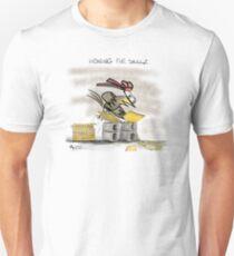Ninja Chicken - Honing The Skillz II Instagram: @mike.kearldraw T-Shirt