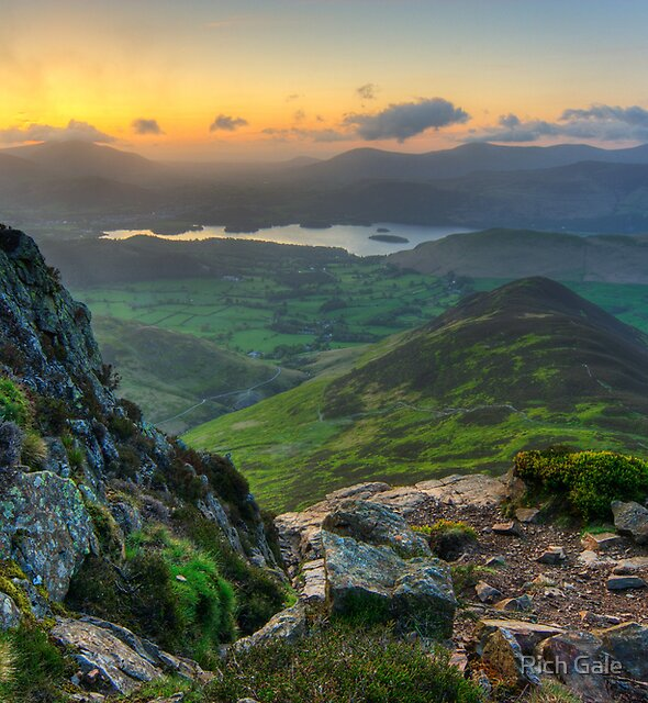 Causey Pike by Rich Gale