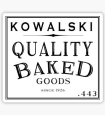 Kowalski Baked Goods Sticker
