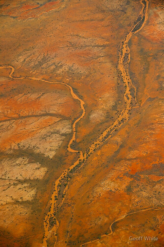 Nullagine River by Geoff White