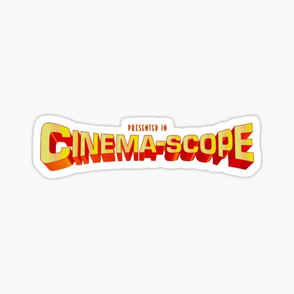 CinemaScope Sticker