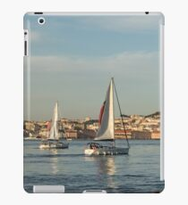 Sailing in Lisbon Portugal iPad Case/Skin
